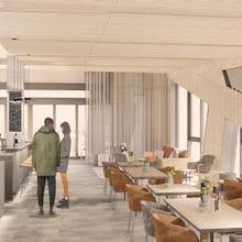 Visualisation of Bründl Sports restaurant Weitblick