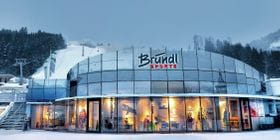 Bründl Sports Shop next to the ski lift- winter shot <br/>