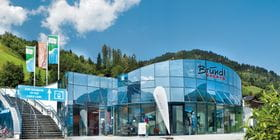 AreitXpress Talstation Bründl Sports Shop direkt neben dem Skilift- Sommeraufnahme <br/>