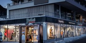 Bründl Sports Ischgl Life.Style from outside in winter <br/>