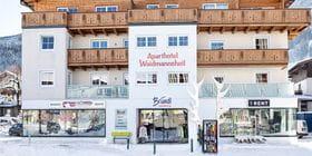 Bruendl Sports shop Waidmannsheil during winter time