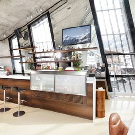 bar and coffee place incl. seating possibilities Flagshipstore <br/>