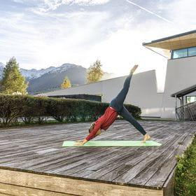 Yoga mit SuperNatural im Tauern Spa Kaprun