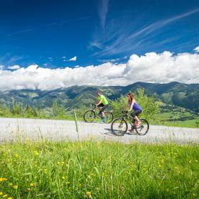 two bikers at Maiskogel