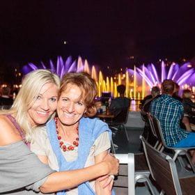 Foto zweier Gäste einer Veranstaltung am Zeller See