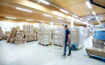 Logistikcenter Kaprun Innenaufnahme