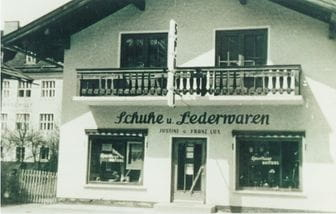 an old photo of the Bruendl store