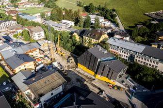 Baufortschritt Bruendl Sports Flagshipstore Juni 2020