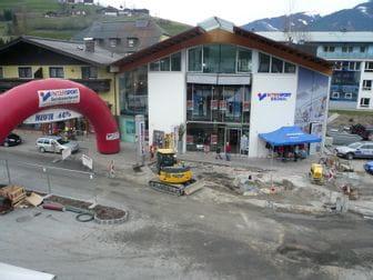 Neubau des Hauptgeschäfts in 2001 - Aufnahme der Baustelle