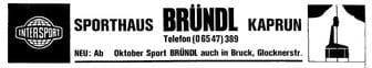 Intersport Bründl Logo alt