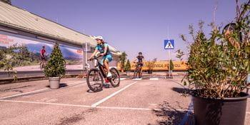 Bikeparcour Designer Outlet Salzburg