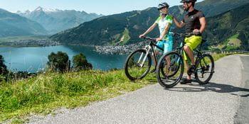 two biker at Zeller See