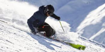 Der Völkl Racetiger Ski.