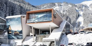 Schmittenhöhenbahn Talstation Winter