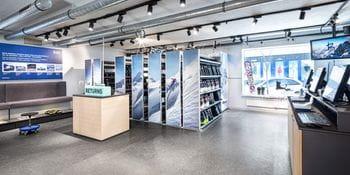 Bruendl Sports Shop Waidmannsheil Verleihbereich