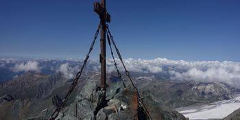 Der Gipfel des Großglockners