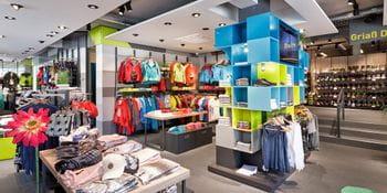interior of a Bruendl store