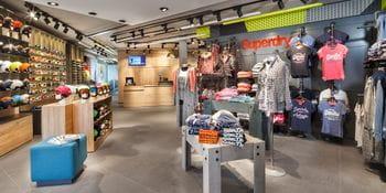 interior of a Bründl store