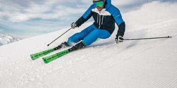 Schöffel Benjamin Raich beim Skifahren