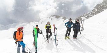 Ortovox Safety Day - Gruppenfoto am Gipfel