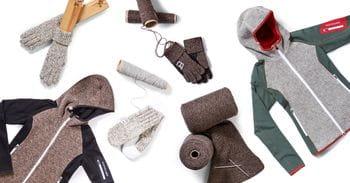 Ortovox Collage aus Woll-Produkten