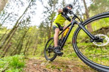 Sandor Banfi am Mountainbike