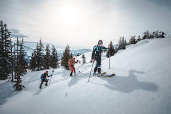 Skitour Shooting Schmitten Wald