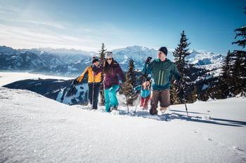 Schneeschuhwandern in Zell am See/ Schmitten