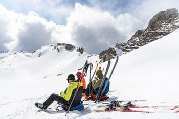 Ortovox Safety Day - Rast am Gipfel