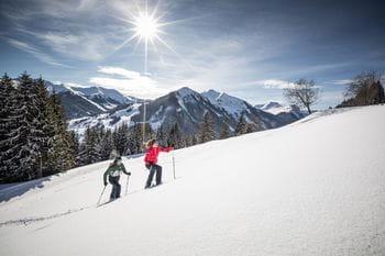 Schneeschuhwandern in Sallbach Hinterglemm