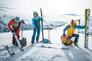 Skitour Shooting Schmitten Fellwechsel