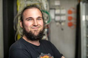 IT-Lehrling Christopher Rautner