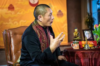 Tulku Lobsang talking
