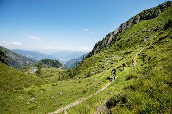 two bikers at Schmitten