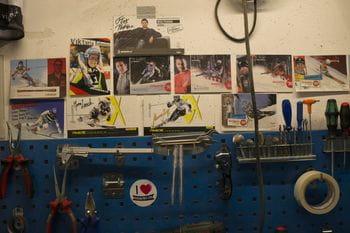 Skischuh Werkstatt