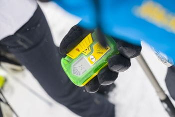 : A device with which avalanche victims can be found and saved