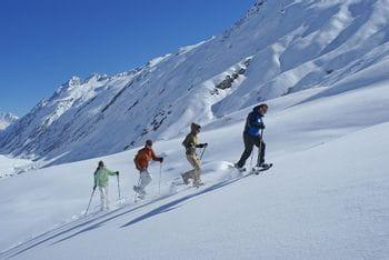 Schneeschuhwandern in Ischgl