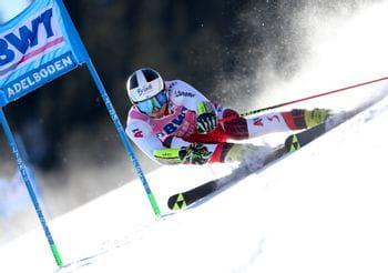 Stefan Brennsteiner skiing