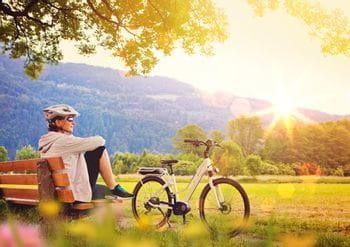 Wunderschöne E-City-Bike Radtour
