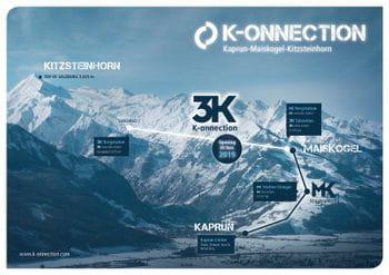 Panorama card K-onnection in Kaprun.