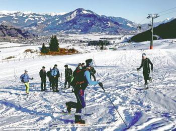 Skitouren Produkte werden in der Praxis getestet