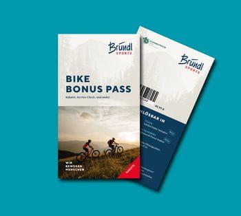 Mit unserem Bonus Pass erhältst du nicht nur zahlreiche Rabatte für Produkte & Serviceleistungen rund ums Bike, sondern bekommst auch einen nachvollziehbaren Überblick über deine Servicetermine.