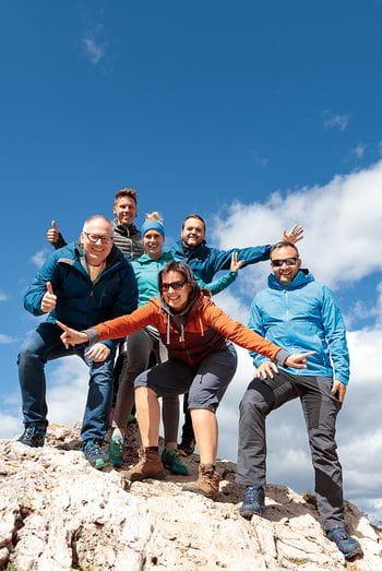 ein Gruppenfoto auf dem Strategieworkshop