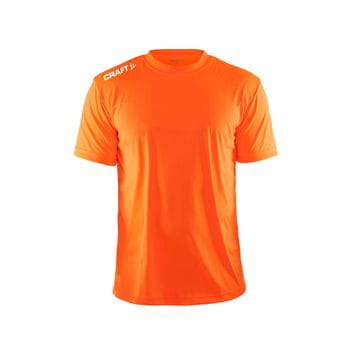 Craft Event Tee Herren orange