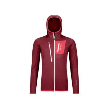 Ortovox Fleece Grid Hoody Women
