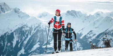 Skitour Shooting Schmitten Gipfel
