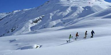 Schneeschuhwandern in Ischgler Winter