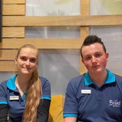 Sportgerätefachkraft, Interview, Lehrlinge