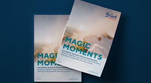 Bründl Sports Magic Moment Magazin Winter 2021/22