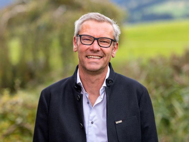 Bruendl Sports executive board member Herbert Neumayer